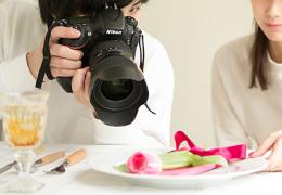 プロの撮影研修